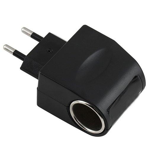 Jiqiaoda2 Car Charger 110V-220V AC to 12V DC EU Plug Car Power Car Cigarette Lighter Socket Converter Car Power Socket