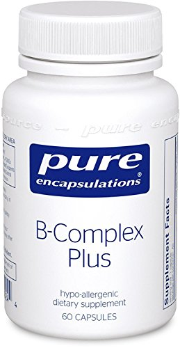 Komplex 60 Kapseln (Pure Encapsulations USA B-Complex Plus 60 veg. Kapseln)