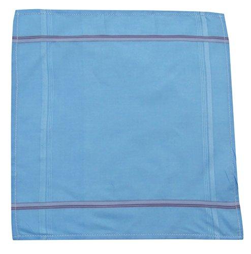 Coton Mouchoir Pocket Square Stripe Mouchoirs Accessoires pour hommes - Choisissez Paquet Multicolore