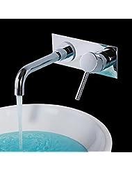 &QQ Grifo, grifo de lavabo de agua caliente y fría