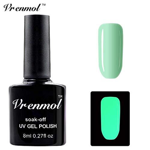Nagellack im Dunkeln glänzen, Ungiftiger Nagellack 18 Farben Neon Neon Gel Nagellack Watopi (Gel-nagellack-sets Großhandel)