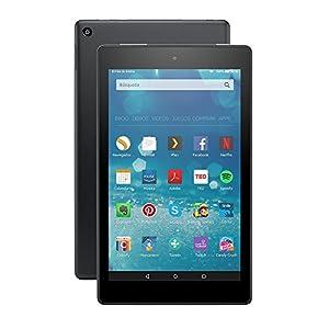 Nuevo Fire HD 8, pantalla HD de 8'' (20,3 cm), Wi-Fi, 16 GB (Negro) - Incluye ofertas especiales de Amazon