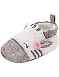 Primeros Pasos Bebé, LANSKIRT Recién Nacido Bebé Suave Botines Zapatos Calientes Botas de Nieve Banda