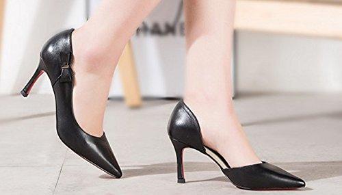 ARC Lady sweet a fait talons/Chaussures en cuir véritable C