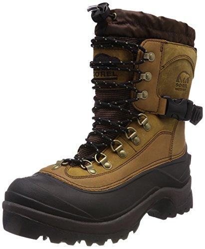 400g Pac Boots (Sorel Herren Stiefel, Conquest, braun (bark), Größe: 43)