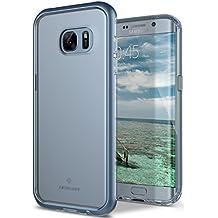 Coque Galaxy S7 Edge, Caseology [Série Skyfall] Ultra Mince Légère et transparente de Protection qui résiste aux Rayures [Corail bleu - Blue Coral] Housse Etui Coque pour Samsung Galaxy S7 Edge (2016)