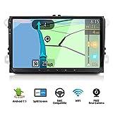 9 pollici Android 7.1.1 4-Core Stereo 2 Din Radio GPS Car Navigation supporto WiFi/specchio Link/OBD2/subwoofer/Bluetooth/DAB/USB con la macchina fotografica Canbus (NO CD/DVD)