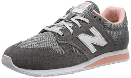 New Balance Damen WL520TLB Sneaker, Grau (Castlerock/Pink Mist Tlb), 40 EU -