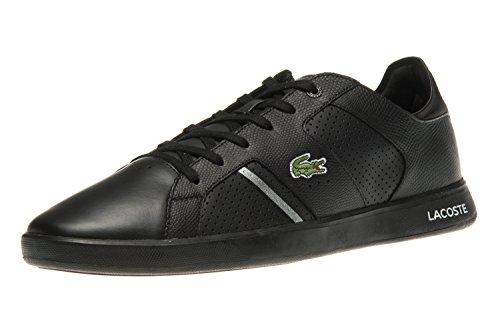 Lacoste Sneaker in Übergrößen Schwarz 7-35SPM004022F große Herrenschuhe, Größe:48