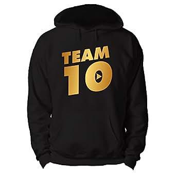 royalteesuk team 10 hoodie paul jake logan online youtuber