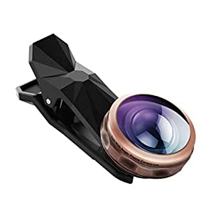 238° Obiettivo Grandangolare HD Topop Lenti Smarphone,Obiettivo per Cellulari,iphone,Samsuang,Huawei,xiaomi e altri Smartphone.