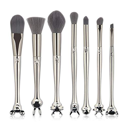 Yarmy Maquillage pinceau 7 Pack-Zodiac Silver Brush Set « makeup Tools » chaud vente