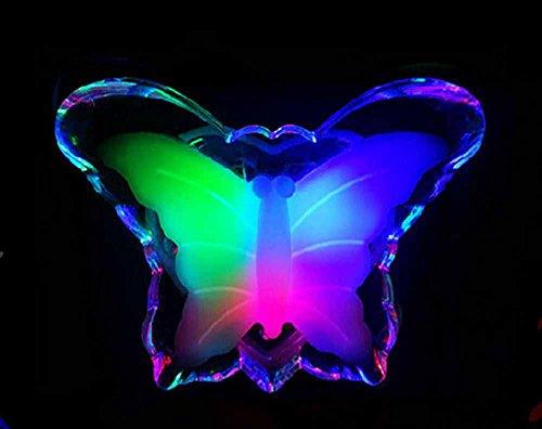 SSBY Moda farfalla luce di notte, amorevole, affascinante lanterne variopinte
