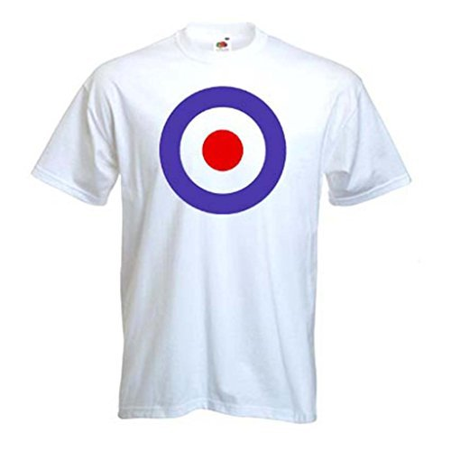Mod Target T-Shirt for Mod, Jam, Ska dress-up