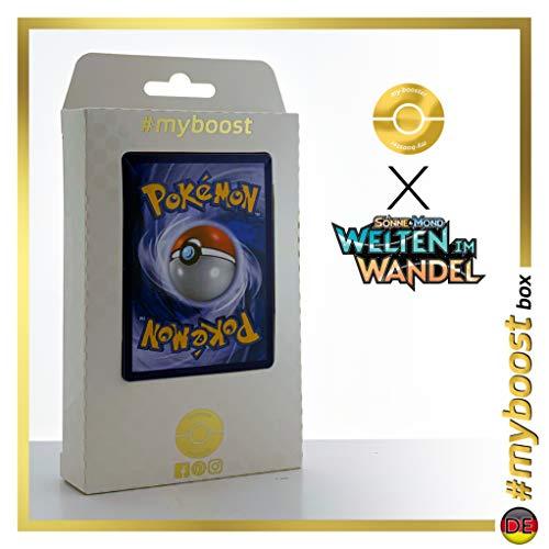 Kampfkunstschule (Dojo de Artes Marciales) 268/236 Entrenadore Secreta - #myboost X Sonne & Mond 12 Welten im Wandel - Box de 10 cartas Pokémon Alemán