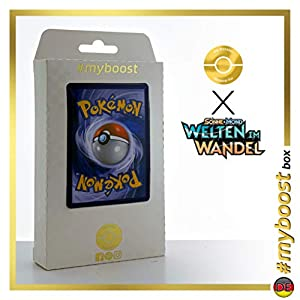 Ramoth-GX (Volcarona-GX) 252/236 Arcoíris Secreta - #myboost X Sonne & Mond 12 Welten im Wandel - Box de 10 cartas Pokémon Alemán