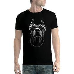 Camiseta hombre Doberman