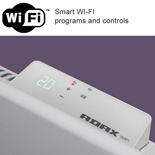 412fP1wmsIL. SS500  - ADAX Neo Smart Wifi Electric Panel Heater/Convector Radiator With Timer. Smartphone Control, Splash Proof, Economic, Modern, Designer