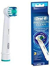 Oral B Procter and Gamble Oral B Precision Clean Refills Replacement Electric Toothbrush Head with 3 Counts