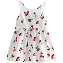 Modaworld Vestidos niña, Vestido de Princesa de Verano para niñas bebé pequeñas Vestidos de Novia