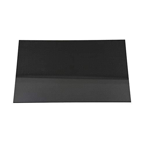 Fly-Fiber Carbon Fiber Plate Sheet 100% 3K Plain Glossy Surface Board 0,2 mm bis 6 mm für DIY Drone Helicopters Frame-200 x 200mm-0.8mm -