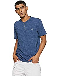 a7cb2e28 Aeropostale Men's Printed Regular Fit T-Shirt (8907538477880_Crest Blue_XL)