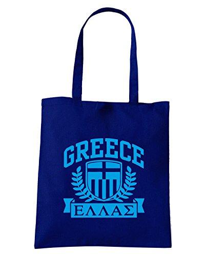 T-Shirtshock - Borsa Shopping TSTEM0105 greece tshirt Blu Navy