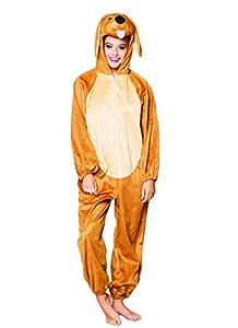 Boland 88454adultos Disfraz perro de peluche, One size