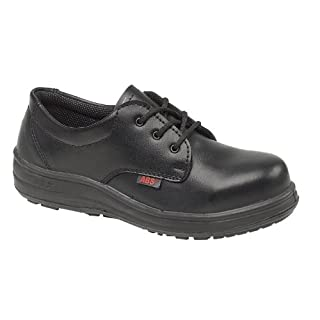 ABS 121P Ladies Safety / Womens Shoes (6 UK) (Black)