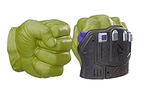 Marvel - Thor, puños electrónicos, Ragnarok Hulk (Hasbro B9974EU4)