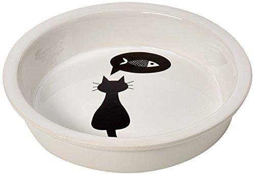 Trixie 24499 Keramiknapf, Katze, 0,25 l/ø 13 cm, weiß