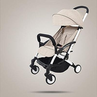 baby stroller Cochecito De Bebé Plegable Ligero Puede Sentarse El Cochecito De Bebé Portátil Reclinable del Cochecito De Bebé del Choque del Coche