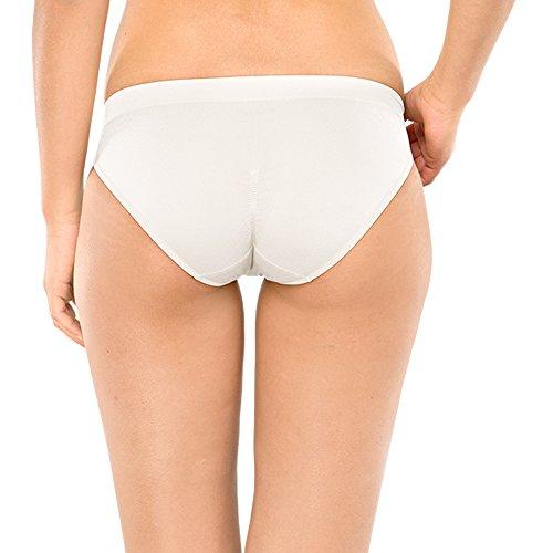 Schiesser Damen Slip Mini Weiß (weiss 100)