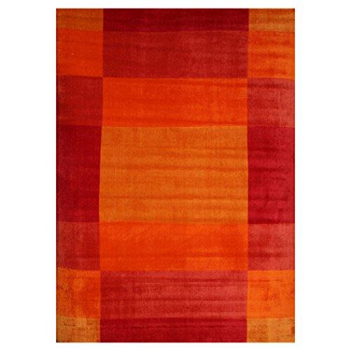 Tappeto da salotto di Design Moderno modello Novate 160x225cm in tessitura Tufting, tappeto modello moderno 160x225 cm in acrilico giapponese, modello multicolore,altezza pelo 10 mm, peso 1.800 gr/mq