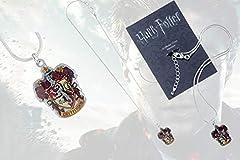 Idea Regalo - Hogwarts Crest (Harry Potter) Necklace [Edizione: Regno Unito]