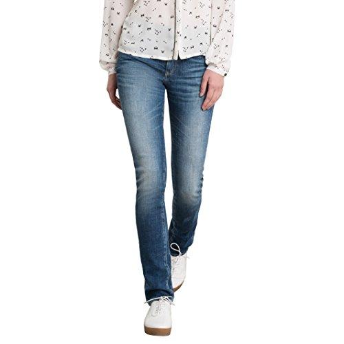 Le Temps Des Cerises Donna Jeans Skinny A Vita Alta Taglia 252 Blu