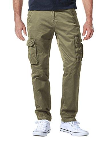 Match 6531- Pantalones Cargo HombreCaqui Claro6531