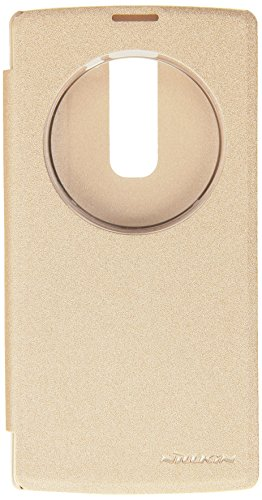 Nillkin Sparkle Series Flip Cover for LG Magna H502F – Golden