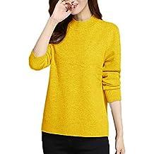best website 2ae53 6e870 Damen Kaschmir Pullover, gelb