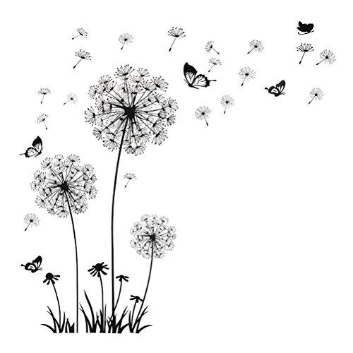 Wandtattoo pusteblume bestseller f r ein sch nes wohnambiente ideen f r zuhause - Wandtattoo pusteblume amazon ...