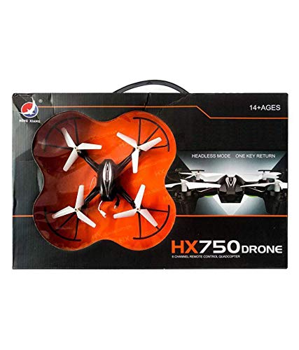 Toy & Joy HX 750 Drone Quadcopter for Kids (Without Camera) (Black and White)