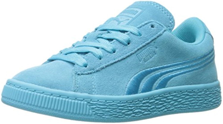 Puma Kids' Suede Classic Badge PS Sneaker
