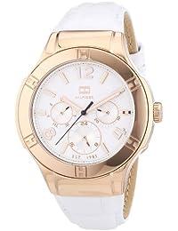 Tommy Hilfiger Damen-Armbanduhr Sport Luxery Analog Quarz Leder 1781362