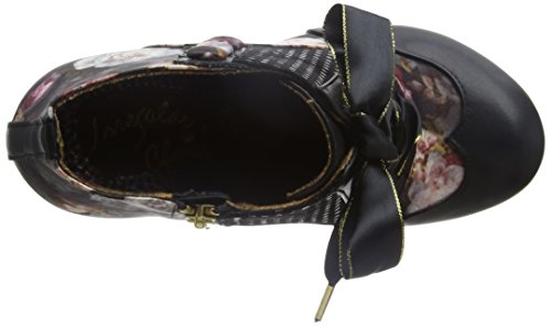 Irregular Choice Damen Blair Elfglow Pumps Schwarz  (Black Multi Floral)