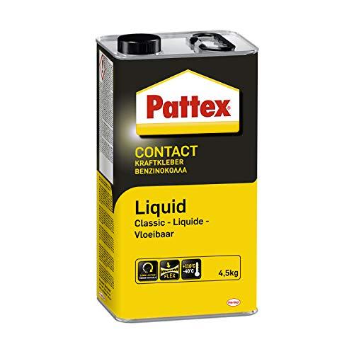 Pattex Kraftkleber Classic, extrem starker Kleber für höchste Festigkeit, Alleskleber für den universellen Einsatz, hochwärmefester Klebstoff, 1 x 4,5kg