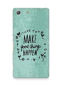 AMEZ make good things happen Back Cover For Sony Xperia M5