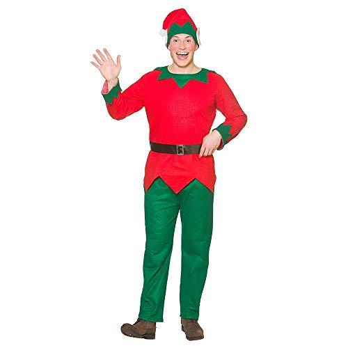 Christmas Elf Plus Size for Fancy dress Costume (Size Elf Plus Kostüm)