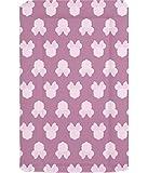 Deluxe pour bébé Unisexe imperméable Matelas à langer avec bords surélevés–Rose Minnie Mouse Silhouette