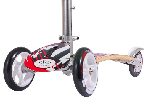 HUDORA Big Wheel Flex Kinderroller 144 mm - Scooter Kinder - 10280 -