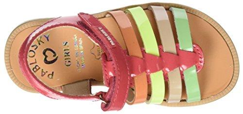 Pablosky  440669, sandales fille Multicolore (1)